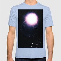 untitled GDB Mens Fitted Tee Tri-Blue SMALL