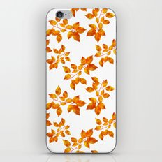 Orange Leaf Art iPhone & iPod Skin