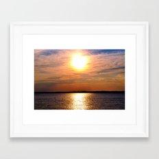 Autumn Horizon Framed Art Print
