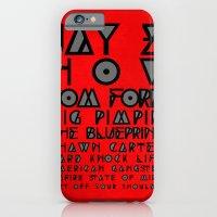 Eye Test - JAY Z iPhone 6 Slim Case