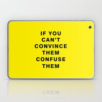 If You Can't Convince Th… Laptop & iPad Skin