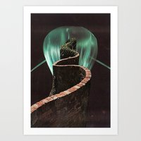 Pathways Art Print