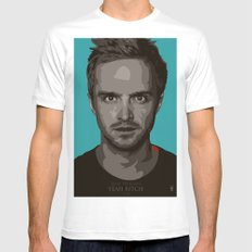 Breaking Bad Jesse SMALL Mens Fitted Tee White