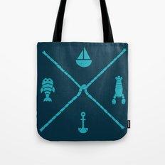 Sub-aquatic Compass Tote Bag