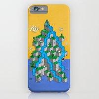 iPhone & iPod Case featuring Ecubesystem by Fabian Gonzalez