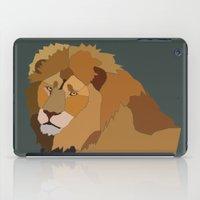 African Lion iPad Case