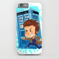 iPhone & iPod Case featuring Allons-y!!!!! by Lucy Fidelis