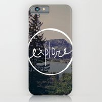 iPhone Cases featuring Explore Oregon by Leah Flores