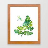 Dragonfly One Framed Art Print