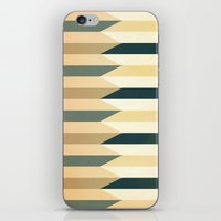 Pencil Clash I iPhone & iPod Skin