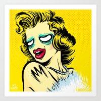 Meta Monroe Art Print
