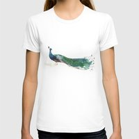 peacock T-shirts featuring Peacock by Ivanushka Tzepesh