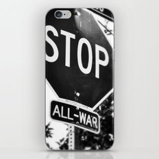 Stop All War. iPhone & iPod Skin