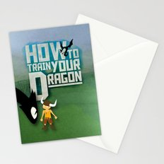 HOW TO TRAIN YOUR DRAGON - Fantasy | Animation | Movie | Fantastic | Childer | Sci-fi Stationery Cards