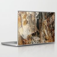 Laptop & iPad Skin featuring Abstract Texture Earthco… by Christine Baessler