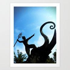Spear Art Print