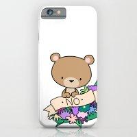 Brown Bear, NO! iPhone 6 Slim Case