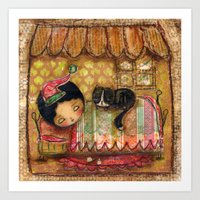 Sleep Tight My Darling O… Art Print