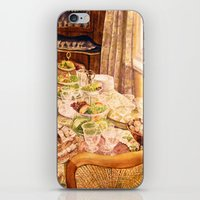 There Was A Party iPhone & iPod Skin