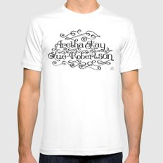 My Name White Mens Fitted Tee SMALL