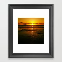 Good Night Wishes From T… Framed Art Print