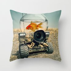On the Move 02 Throw Pillow