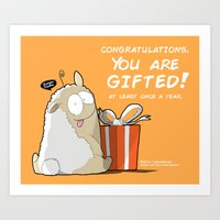 Gifted! Art Print