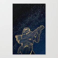 Star Wars Gold Edition Canvas Print