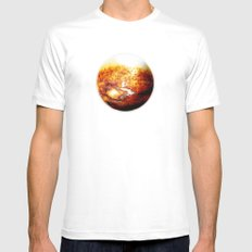 Element: Fire Mens Fitted Tee SMALL White