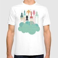 Grand départ (graphic version) Mens Fitted Tee White SMALL