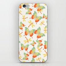 Butterflies and Dragonflies iPhone & iPod Skin