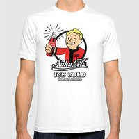 Nuka Cola Mens Fitted Tee White SMALL