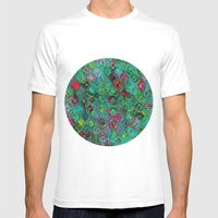 Ripple Effect Mens Fitted Tee White SMALL