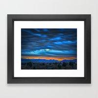 Gogh Sunrise Framed Art Print