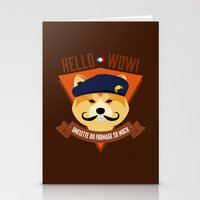 Hello Wow, Omelette Du F… Stationery Cards