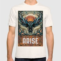 Arise Mens Fitted Tee Natural SMALL