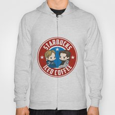Starbucks - Steve Rogers and Bucky Barnes Iced Coffee  Hoody
