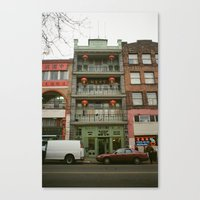 Chinese B.A. Building 19… Canvas Print