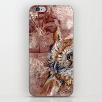 Human Owl iPhone & iPod Skin