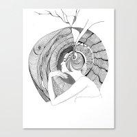 Egocentric Canvas Print