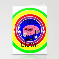 mind-blown #swagg Stationery Cards