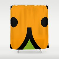 face 7 Shower Curtain