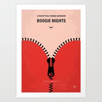 No167 My Boogie Nights minimal movie poster Art Print