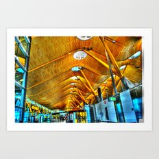 Madrid Airport Art Print