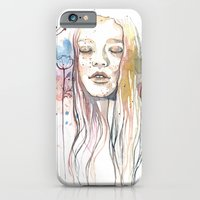 Meditation, Watercolor  iPhone 6 Slim Case