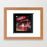 When Tove travelled to the Far East Framed Art Print