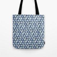 Shibori six Tote Bag