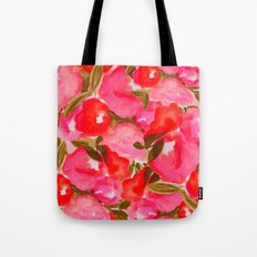 OUR SUMMER GARDEN- PINK Tote Bag