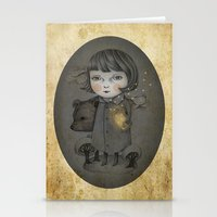 Come Night Stationery Cards