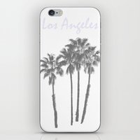 Los Angeles Poster iPhone & iPod Skin